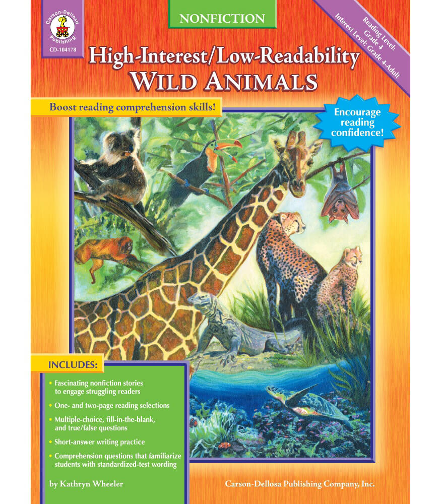 Wild Animals Resource Book