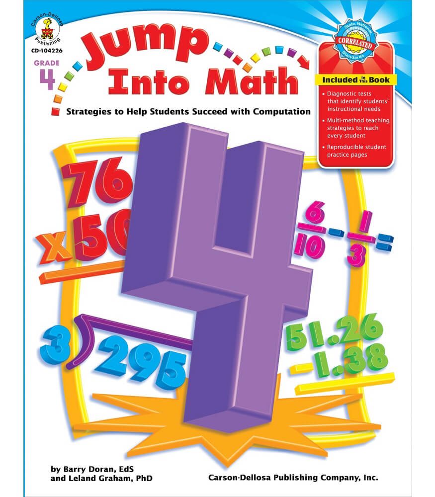 Jump Into Math Resource Book Product Image