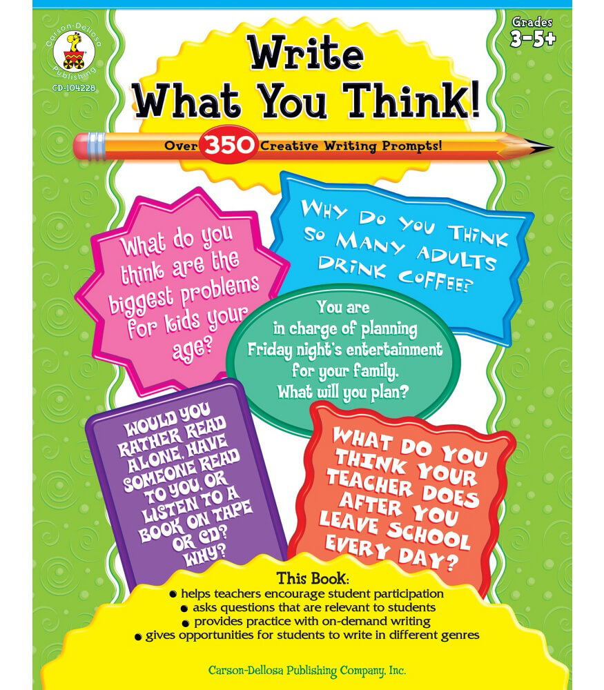 Write What You Think! Resource Book Product Image