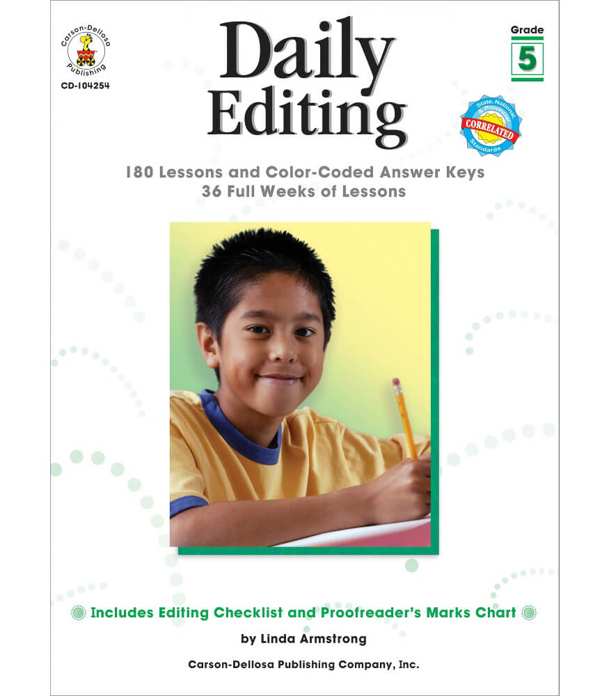 Daily Editing Resource Book Product Image