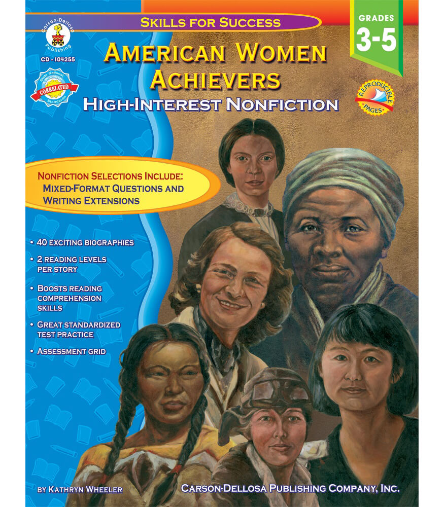 American Women Achievers Resource Book Product Image