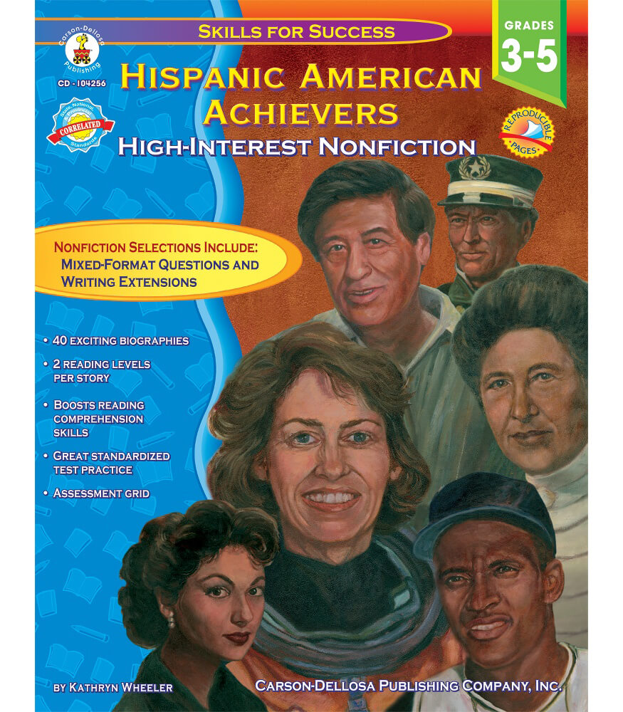 Hispanic American Achievers Resource Book Product Image