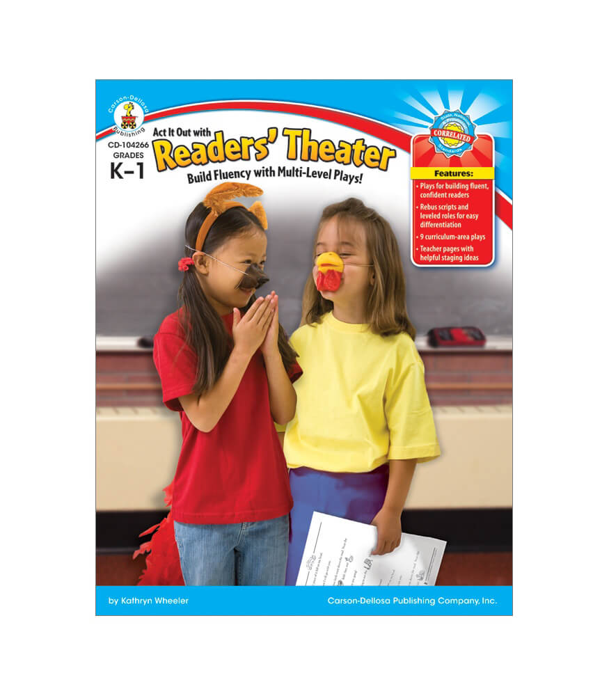 Act It Out with Readers' Theater Resource Book Product Image