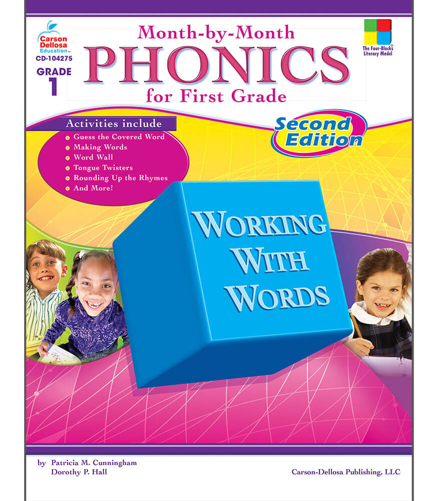 Month-by-Month Phonics for First Grade Resource Book Product Image