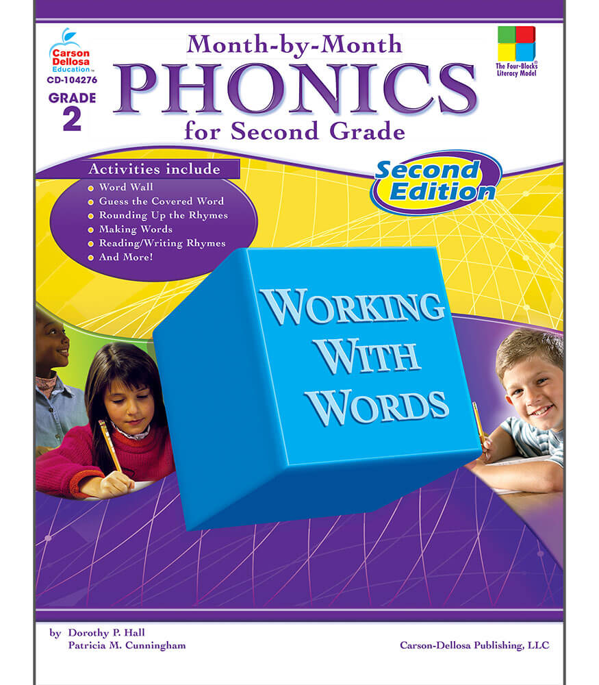 Month-by-Month Phonics for Second Grade Resource Book Product Image