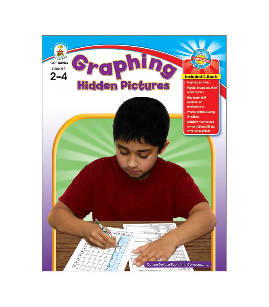 Graphing Hidden Pictures Resource Book Product Image