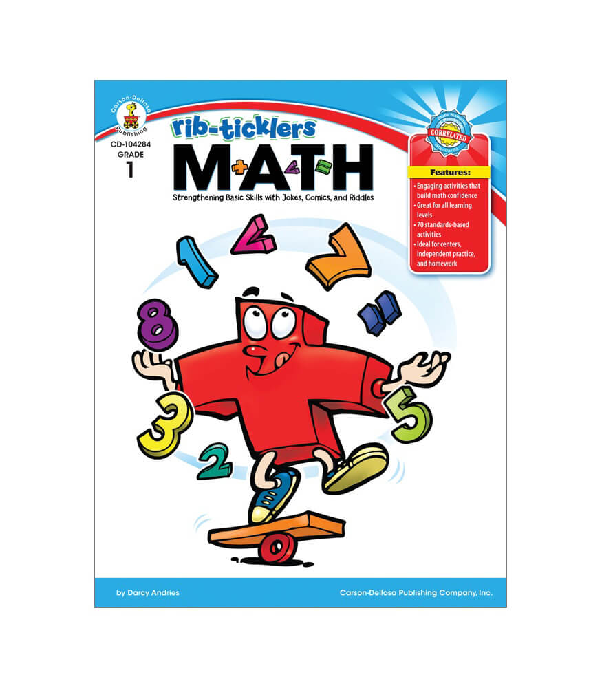 Rib-Ticklers Math   Resource Book Product Image