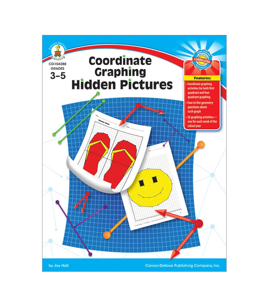 Coordinate Graphing Hidden Pictures Resource Book Product Image
