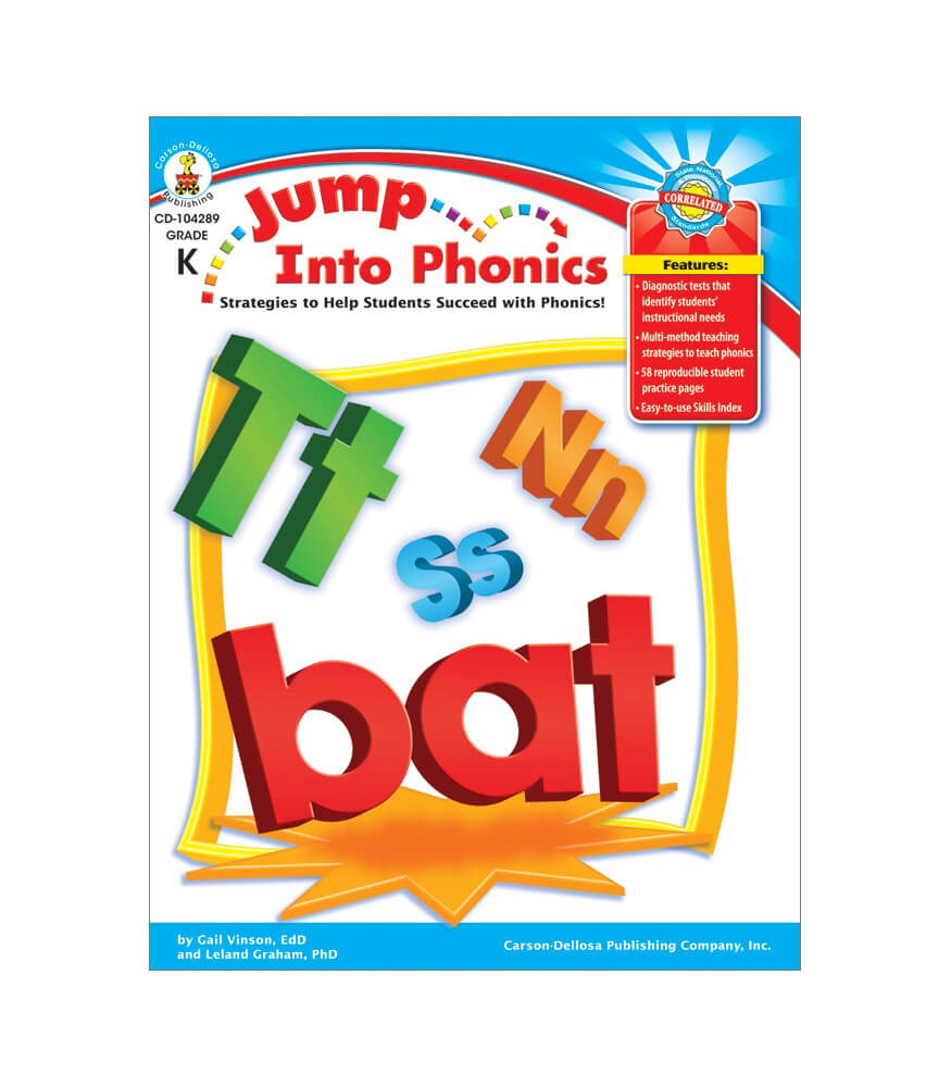 Jump Into Phonics Resource Book Product Image