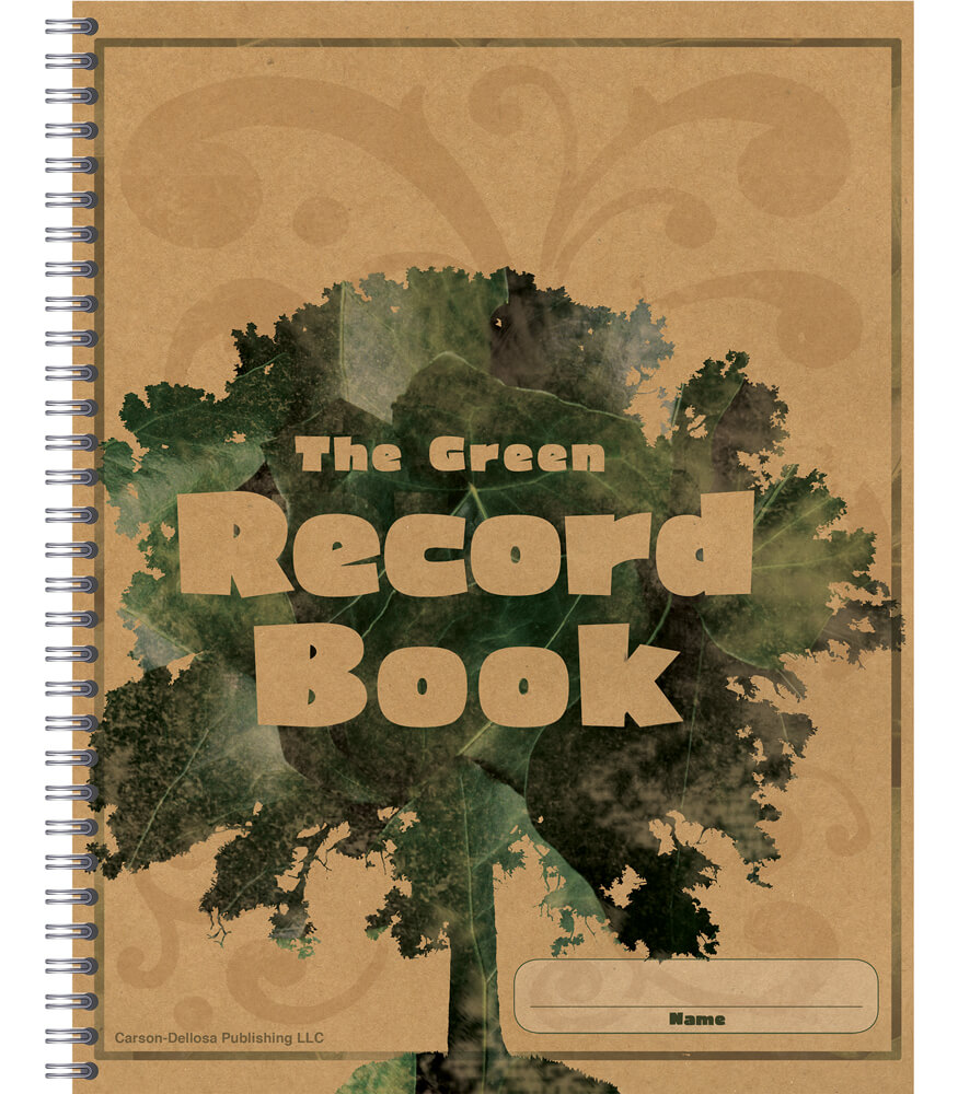 The Green Record Book Product Image