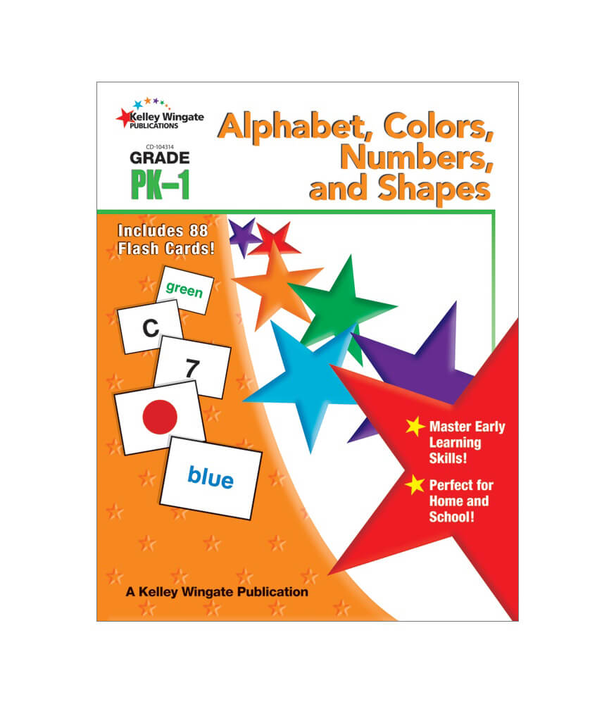 Alphabet, Colors, Numbers, and Shapes Workbook