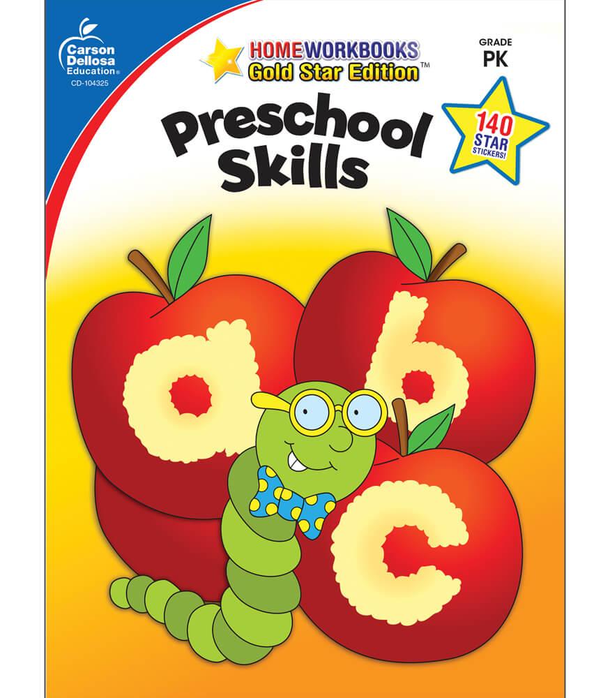 Preschool Skills Workbook Product Image