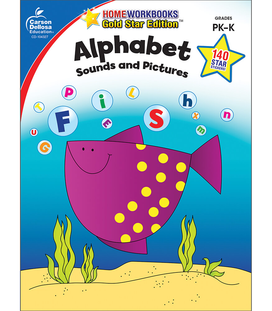 Sounds and Pictures Alphabet Workbook Product Image