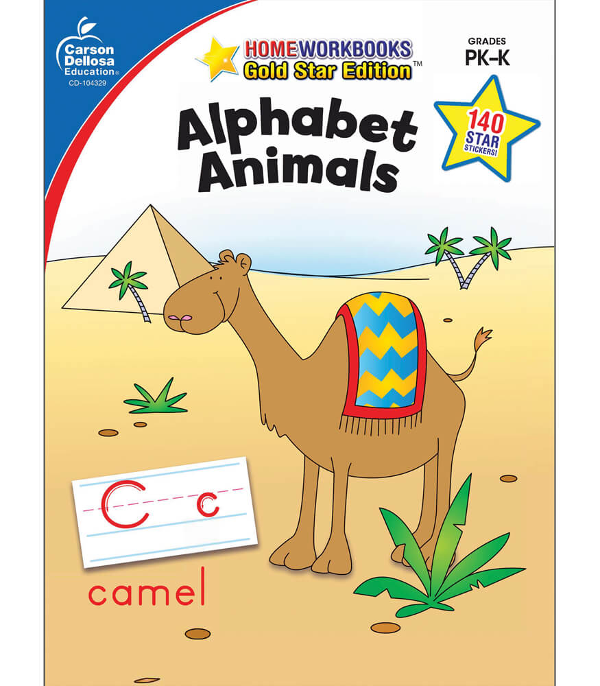 Alphabet Animals Workbook