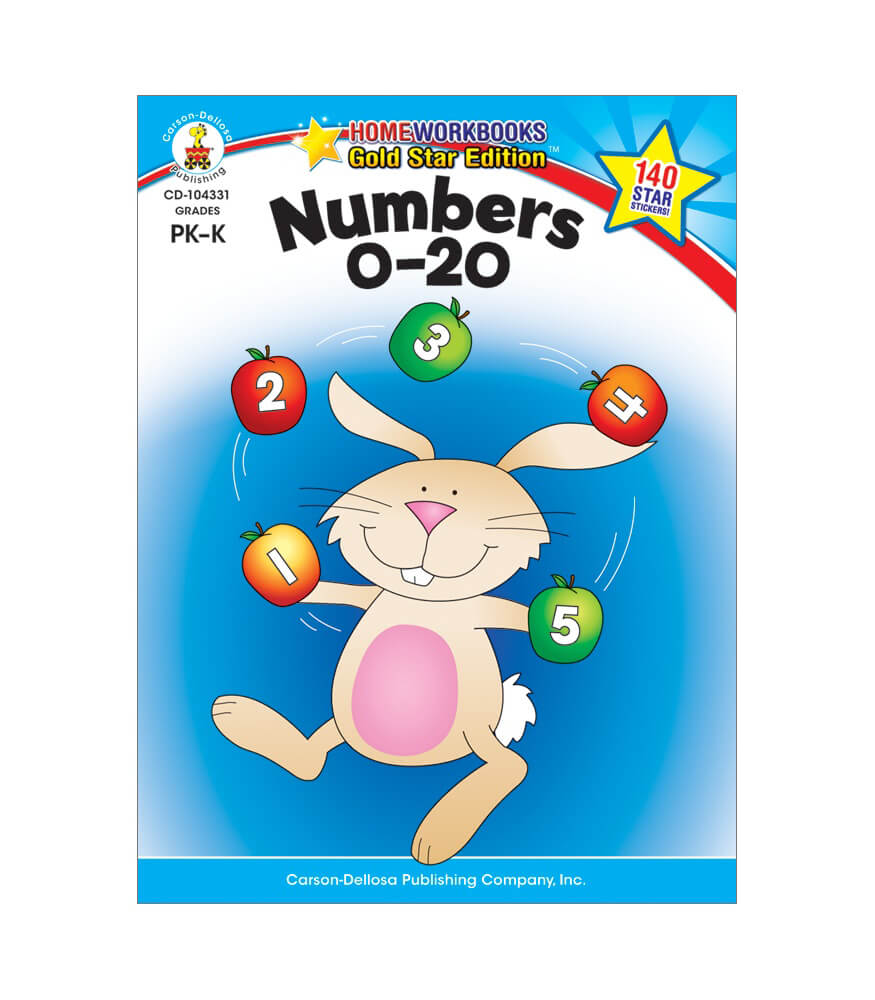 Numbers 0-20 Workbook Product Image