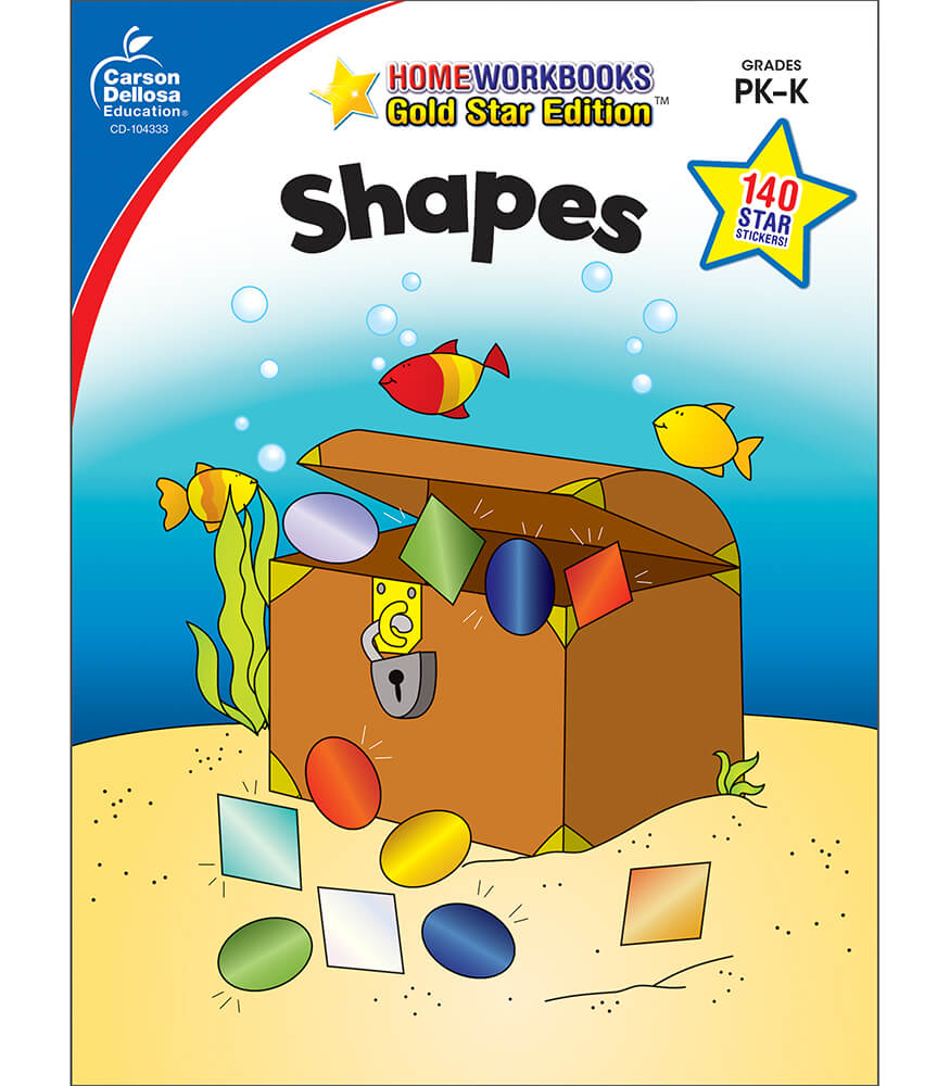 Shapes Workbook Product Image