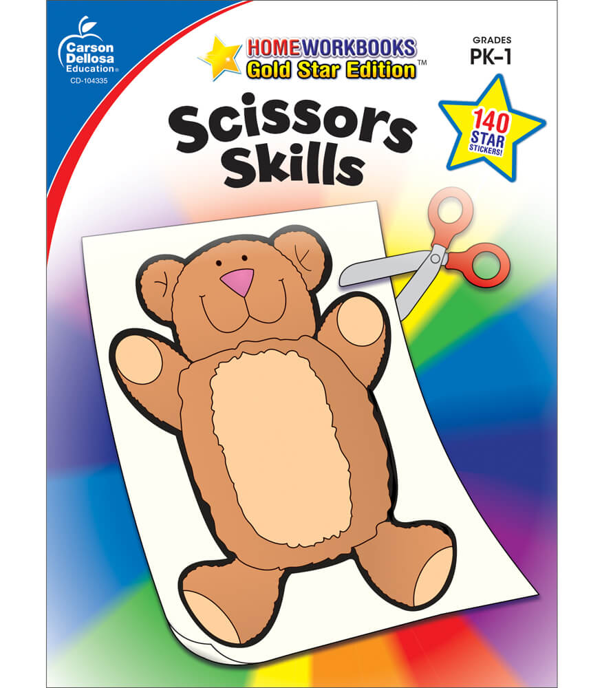 Scissors Skills Workbook Product Image