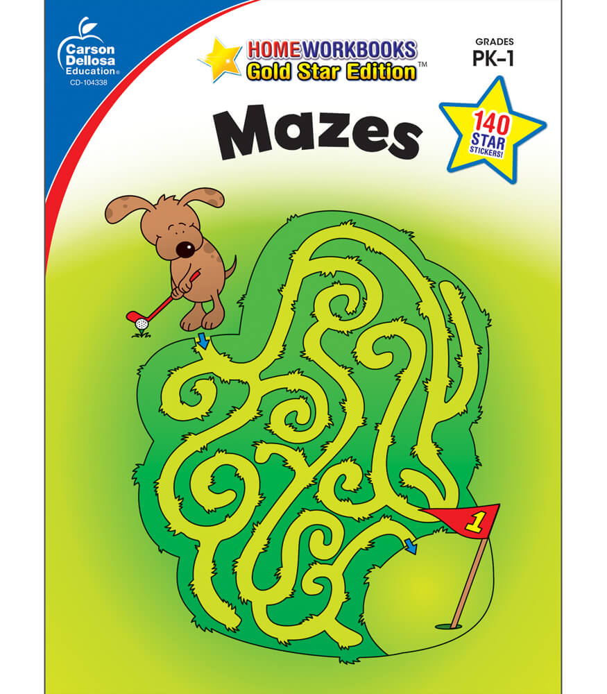 Home Workbooks Mazes Activity Book Activity Book Product Image