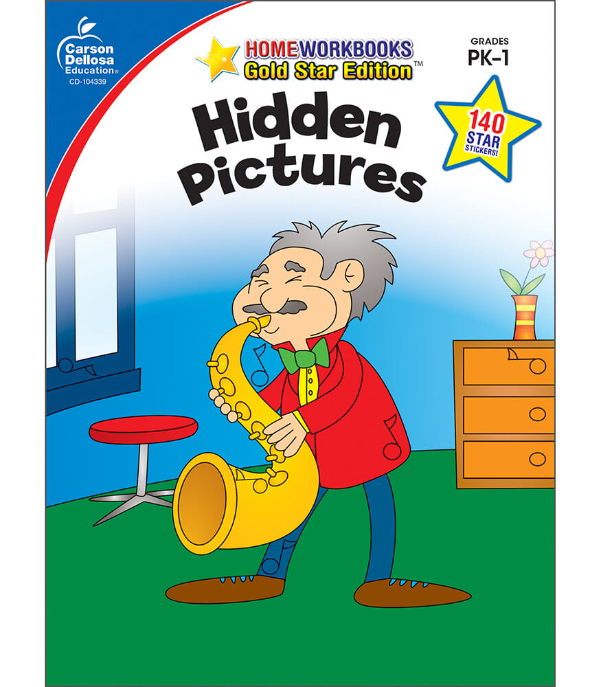 Hidden Pictures Activity Book Product Image