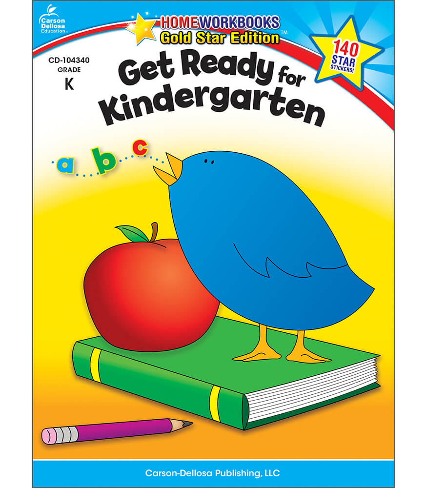 Get Ready for Kindergarten Workbook Product Image
