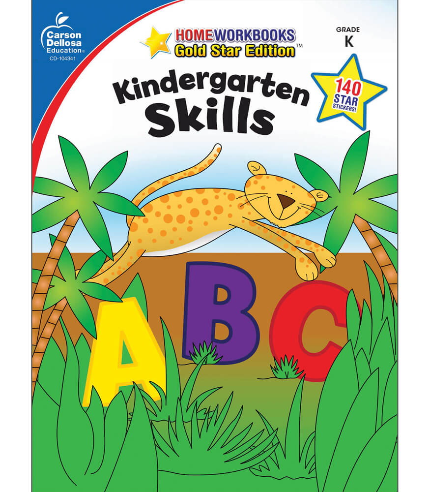 Kindergarten Skills Workbook Product Image