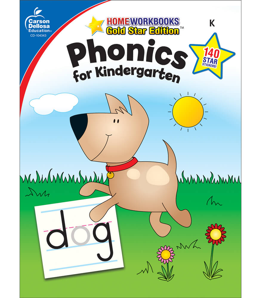 Phonics for Kindergarten Workbook