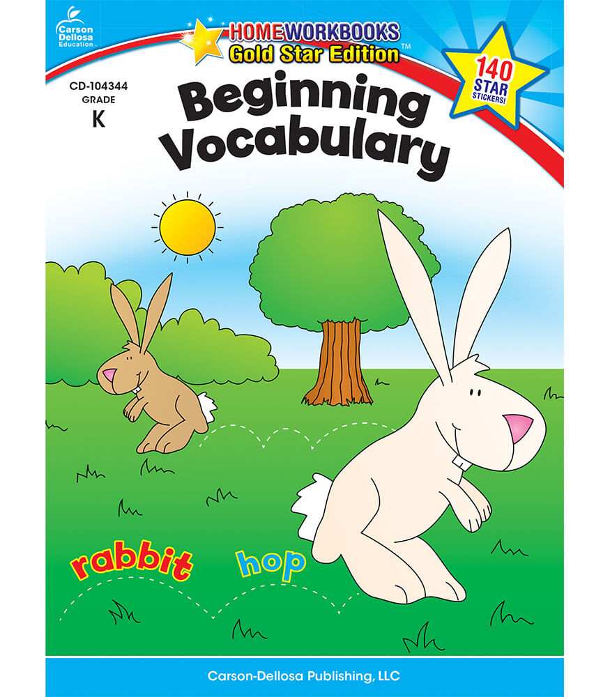 Beginning Vocabulary Workbook Product Image