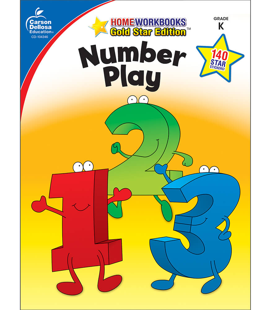 Number Play Workbook Product Image