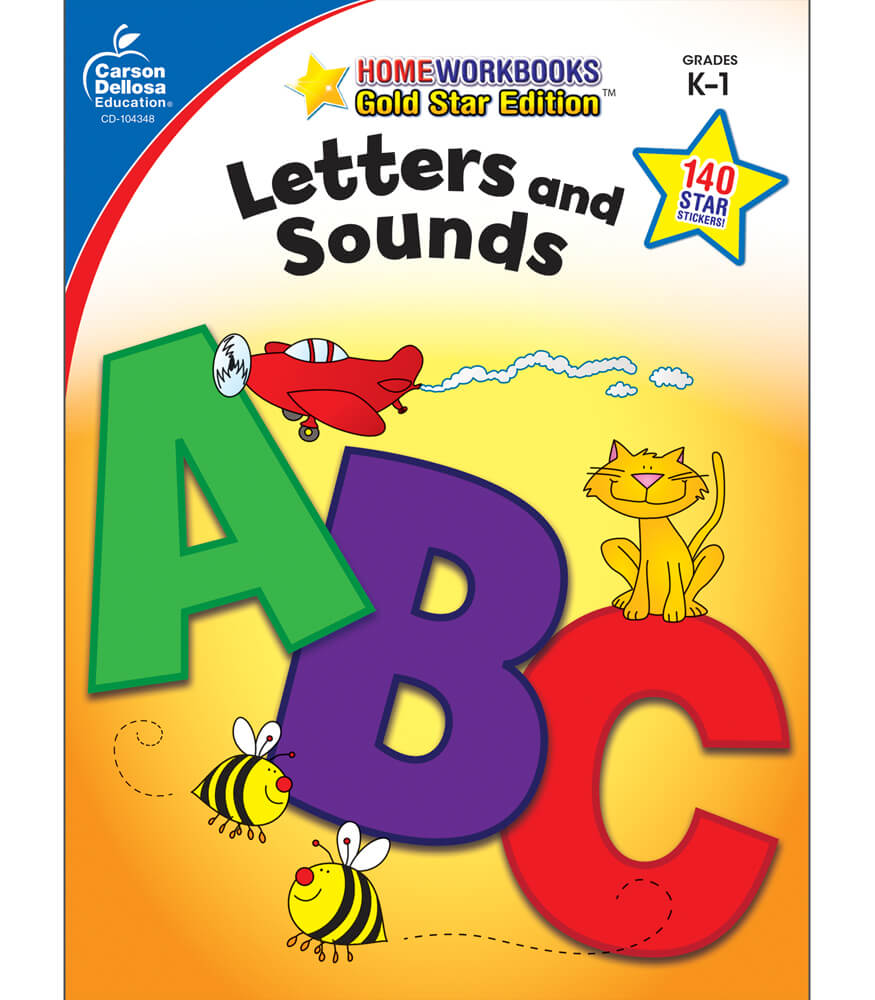 Letters and Sounds Workbook Product Image