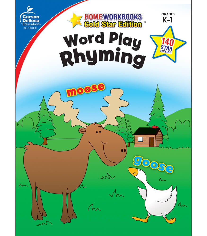 Word Play: Rhyming Workbook Product Image