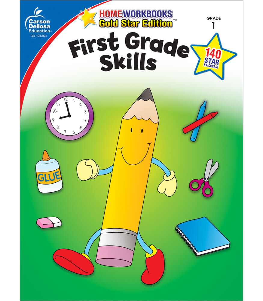 First Grade Skills Workbook Product Image