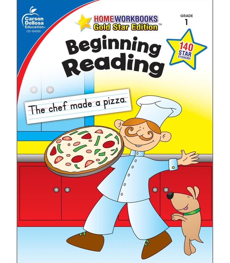 Beginning Reading Workbook Product Image