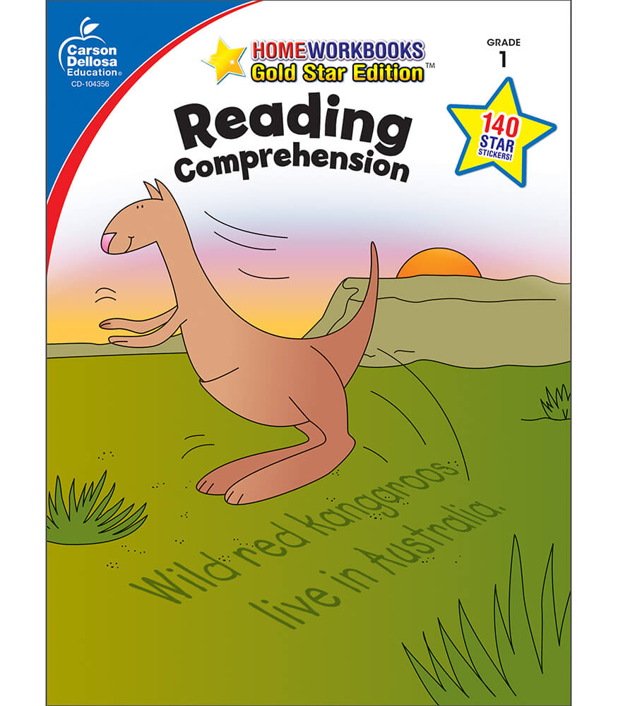Reading Comprehension Workbook Product Image