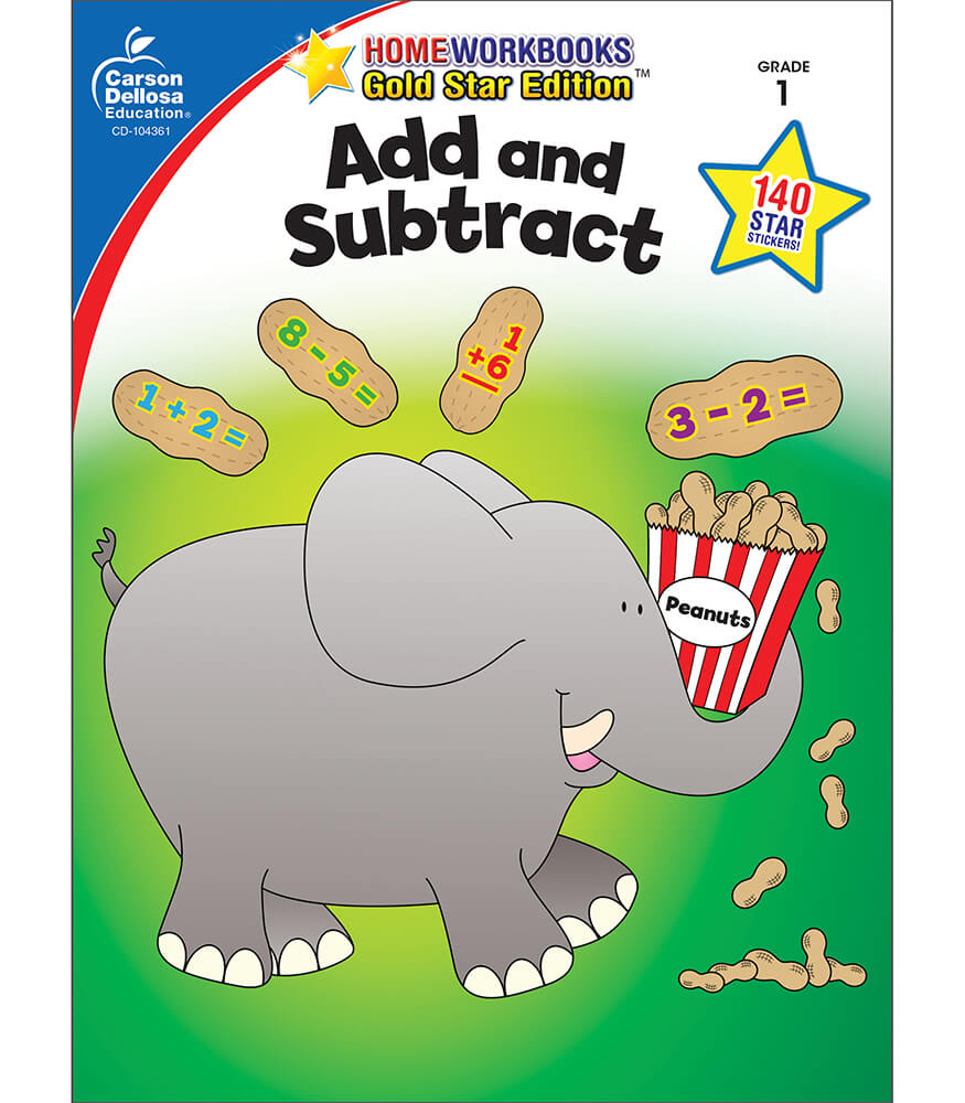 Add and Subtract Workbook Product Image