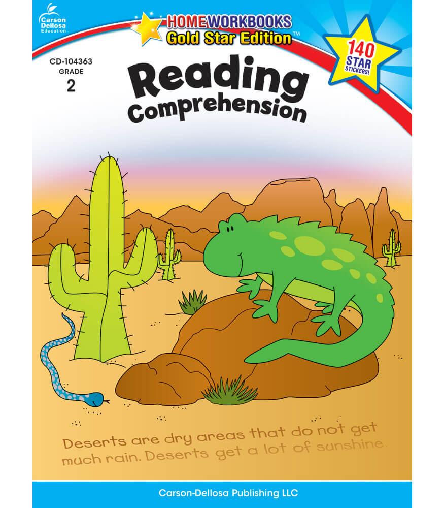 Home Workbooks Reading Comprehension Workbook Product Image