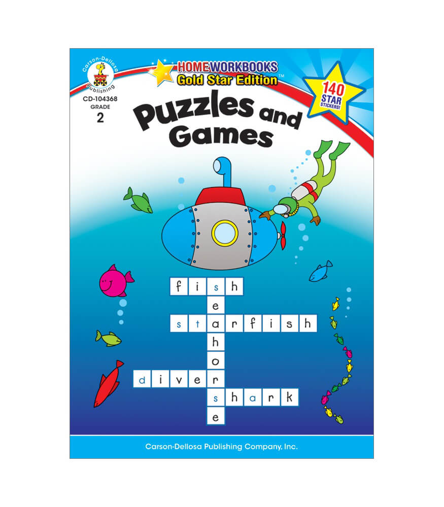 Puzzles and Games Activity Book