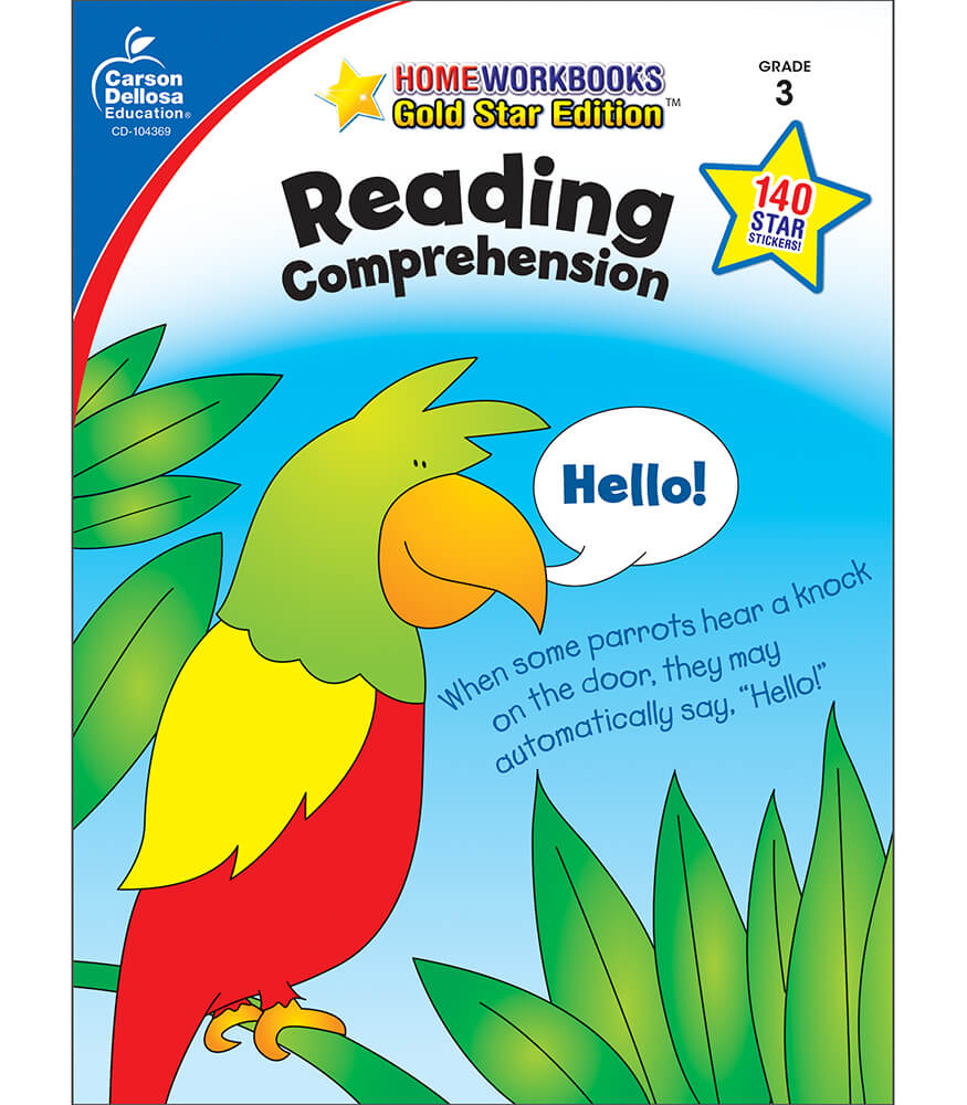 Home Workbooks Reading Comprehension Workbook Product Image