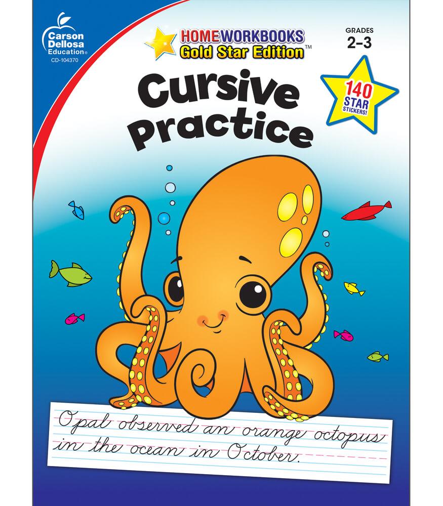Cursive Practice Workbook Product Image