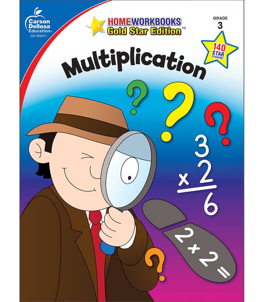 Multiplication Workbook Grade 3 | Carson-Dellosa Publishing