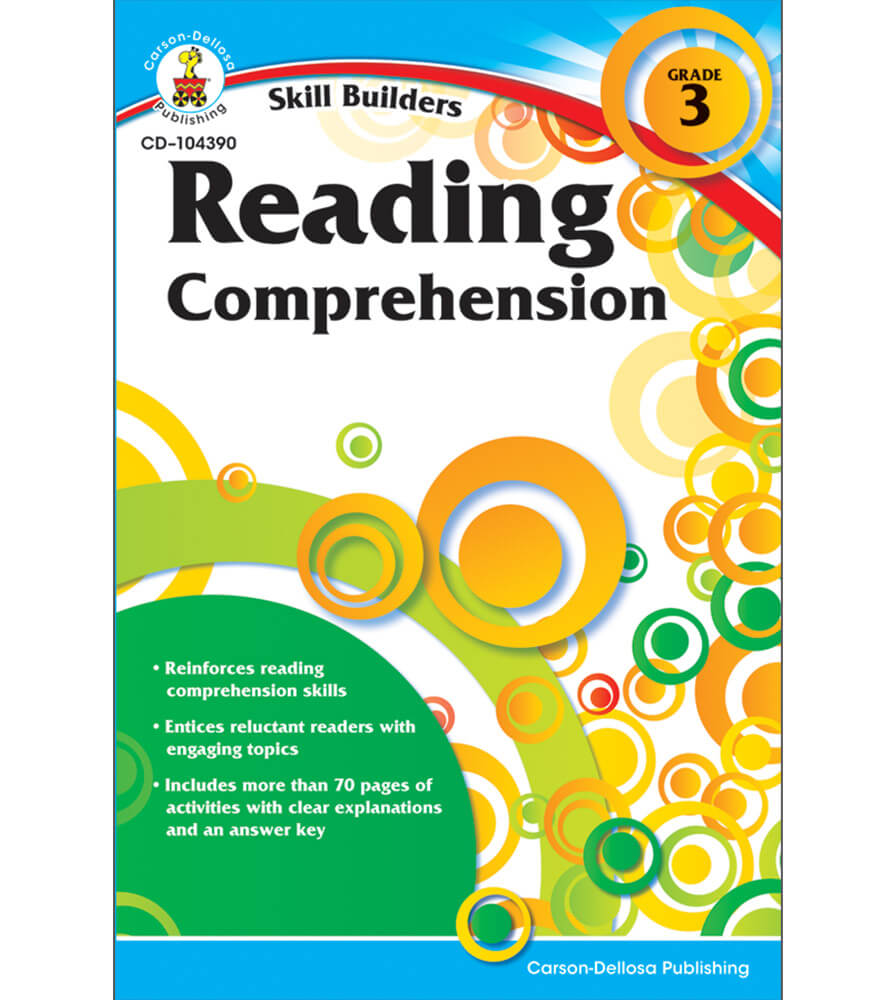 Reading comprehension workbook grade 3 reading comprehension workbook fandeluxe Image collections