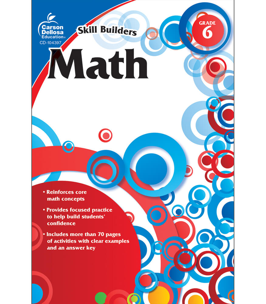 Skill Builders Math  Workbook Product Image