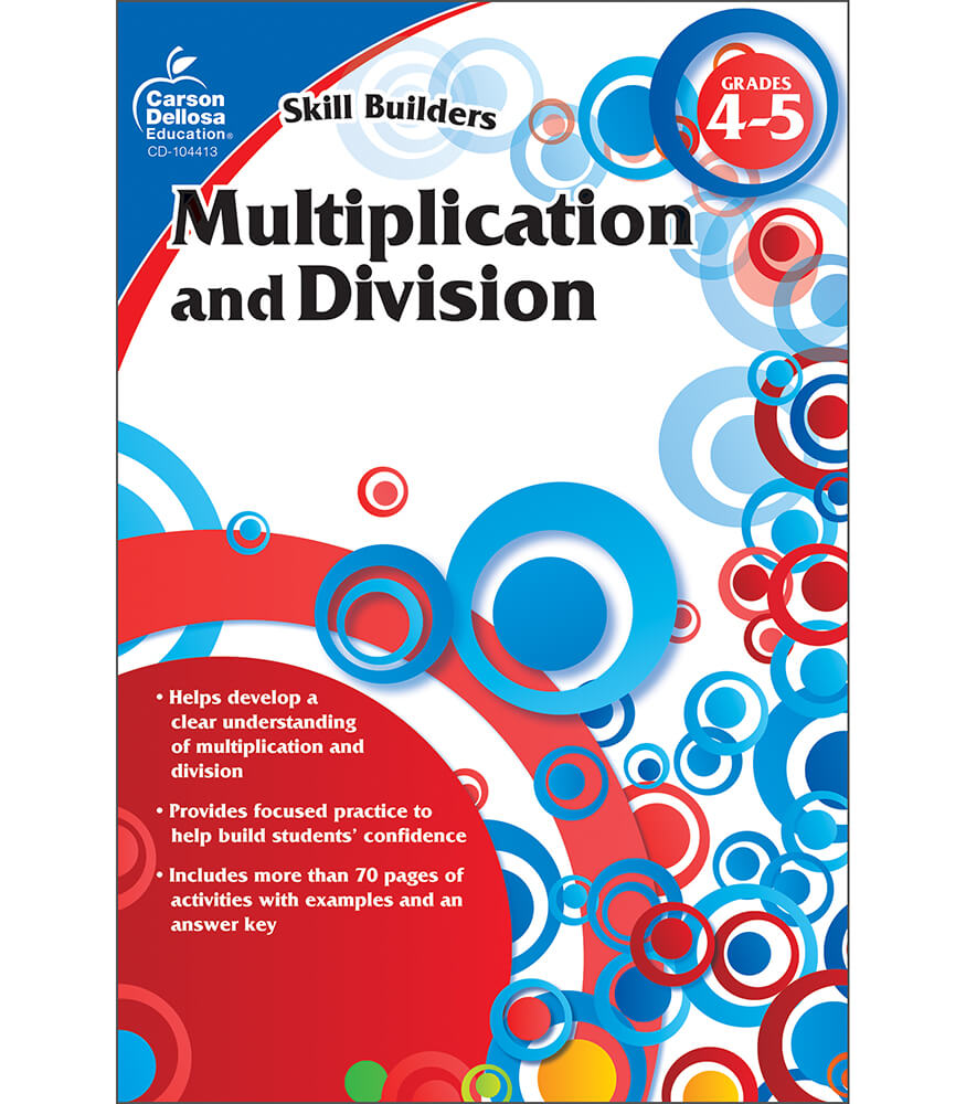 Multiplication and Division Workbook Product Image