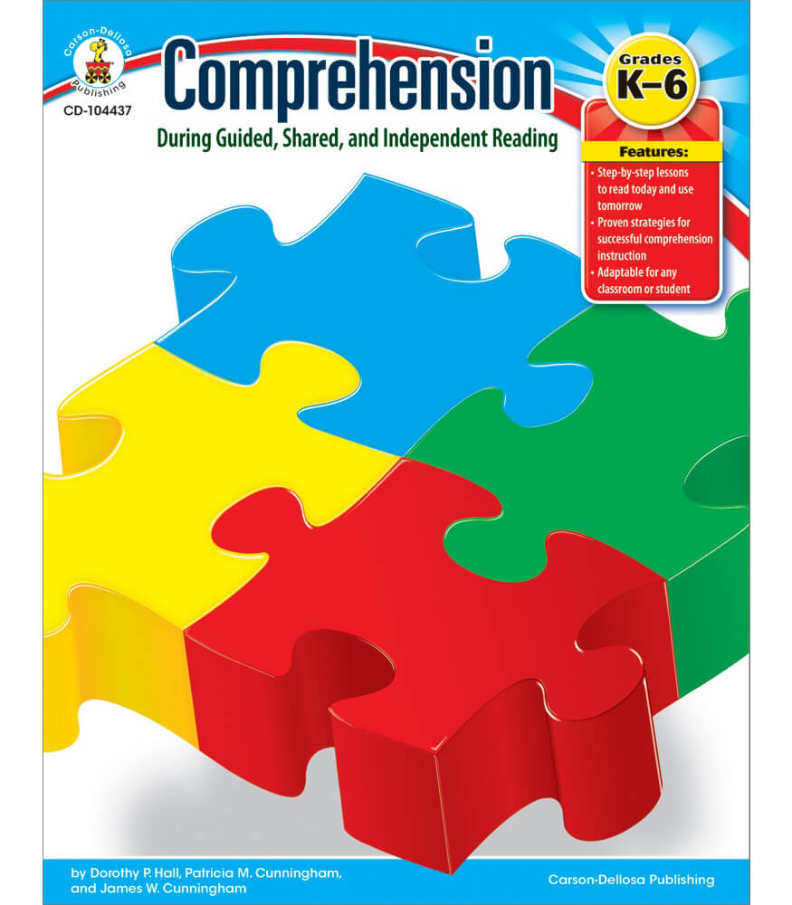 Comprehension During Guided, Shared, and Independent Reading Resource Book Product Image