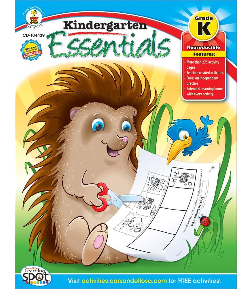 Kindergarten Essentials Resource Book Product Image