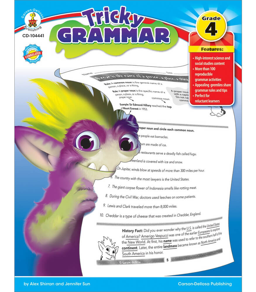 Tricky Grammar Resource Book Product Image