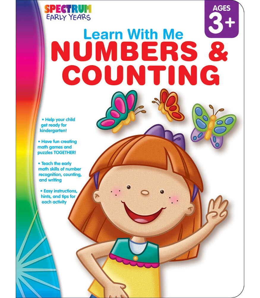 Workbooks prek workbooks : Numbers & Counting Workbook Grade Preschool-K | Carson-Dellosa ...