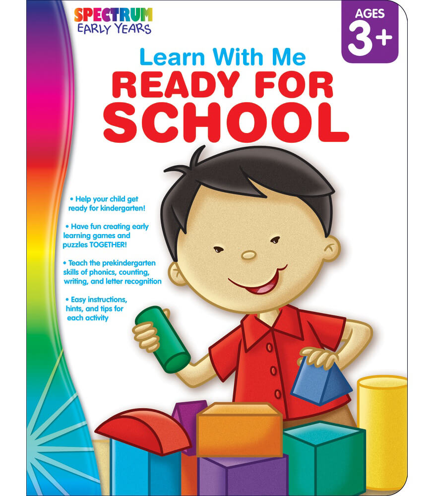 Ready for School Workbook Product Image