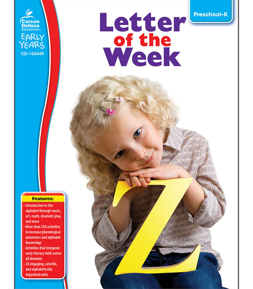 Letter of the Week Resource Book Product Image