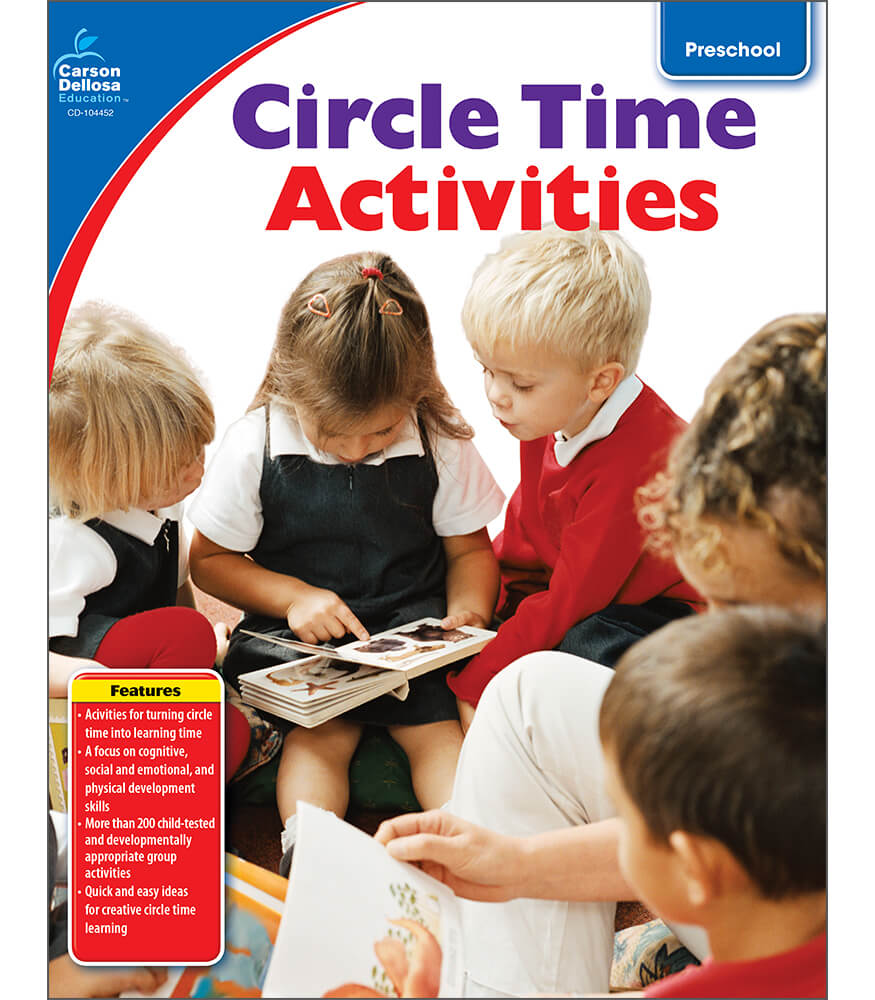 Circle Time Activities Resource Book Product Image