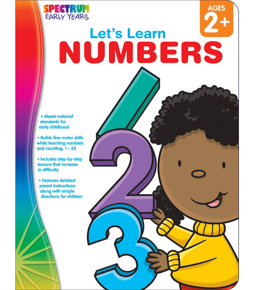 Let's Learn Numbers Workbook Product Image
